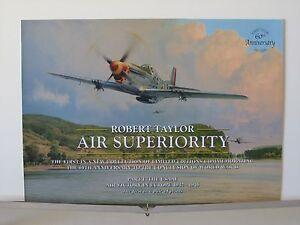 Air-Superiority-P-51D-Mustang-357th-FG-Aces-Robert-Taylor-Aviation-Art-Brochure