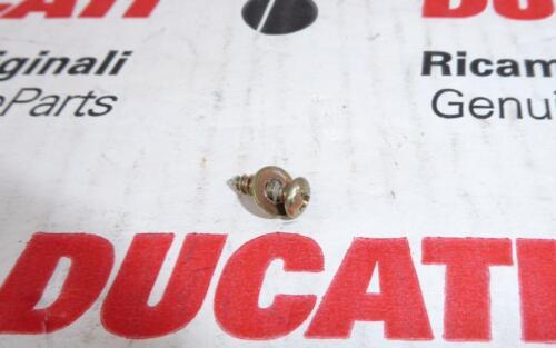 1998-2005 Ducati ST2 ST4 fairing air manifold panel screw 772310871 /& washer