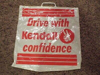 Liquid Glues & Cements Business & Industrial Open-Minded Very Rare Kendall Motor Oil Carry Plastic Bag Never Used