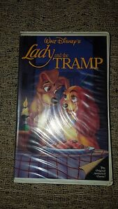Walt Disney S Black Diamond Classic Lady And The Tramp Vhs 582 Ebay