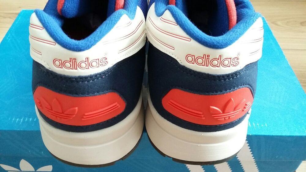 Adidas ZX710 UK8.5 en daim Dead bleu rouge blanc Rare Dead daim Stock- 4cfc67
