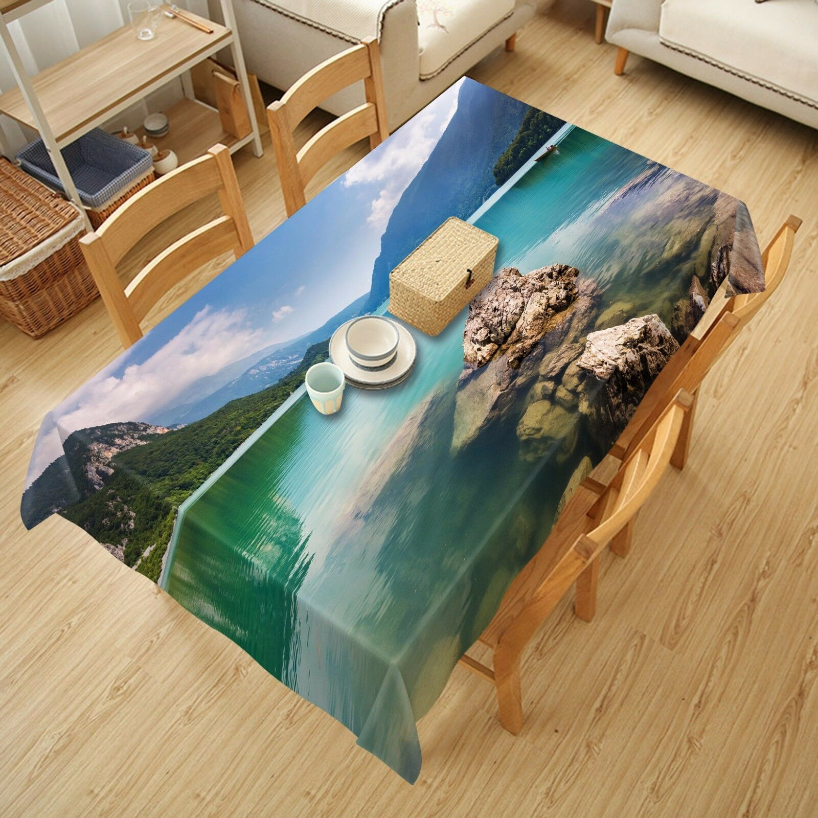 3D Gully  4889 Tablecloth Table Cover Cloth Birthday Party Event AJ WALLPAPER AU