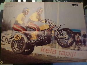 poster la moto Norton Ton V. HEUGTEN Jan Heese moto cross side car shell - France - État : Neuf: Objet neuf et intact, n'ayant jamais servi, non ouvert. Consulter l'annonce du vendeur pour avoir plus de détails. ... - France