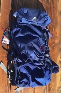 Gregory Deva 70 Pack Women Sz M Backpack Backpacking Egyptian Blue ... 2a0da0919e7b7