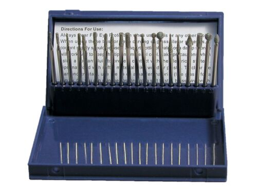 Set of 20 Tips for Inland or Other Hand Held Engraver Etching Writing on Glass