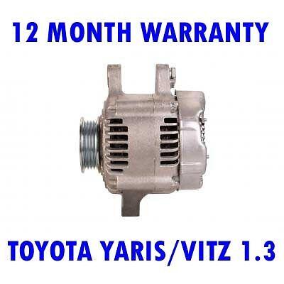 TOYOTA YARIS//VITZ 1.3 1.5 1999 2000 2001 2002 2003 2004 2005 RMFD ALTERNATOR
