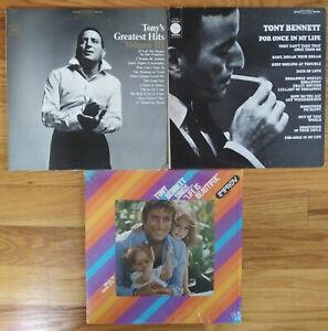 Lot-of-TONY-BENNETT-Record-LP-Vinyl-pop-rock-jazz-play-graded