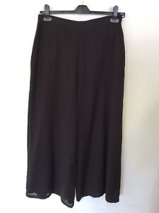 NITYA-DARK-BROWN-WOOL-BLEND-WIDE-LEG-TROUSERS-SIZE-44-UK-16