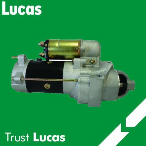 LUCAS STARTER FOR CHEVY 82-02 GMC 6.2 6.5 DIESEL 28MT 27MT HIGH TORQUE 10465014