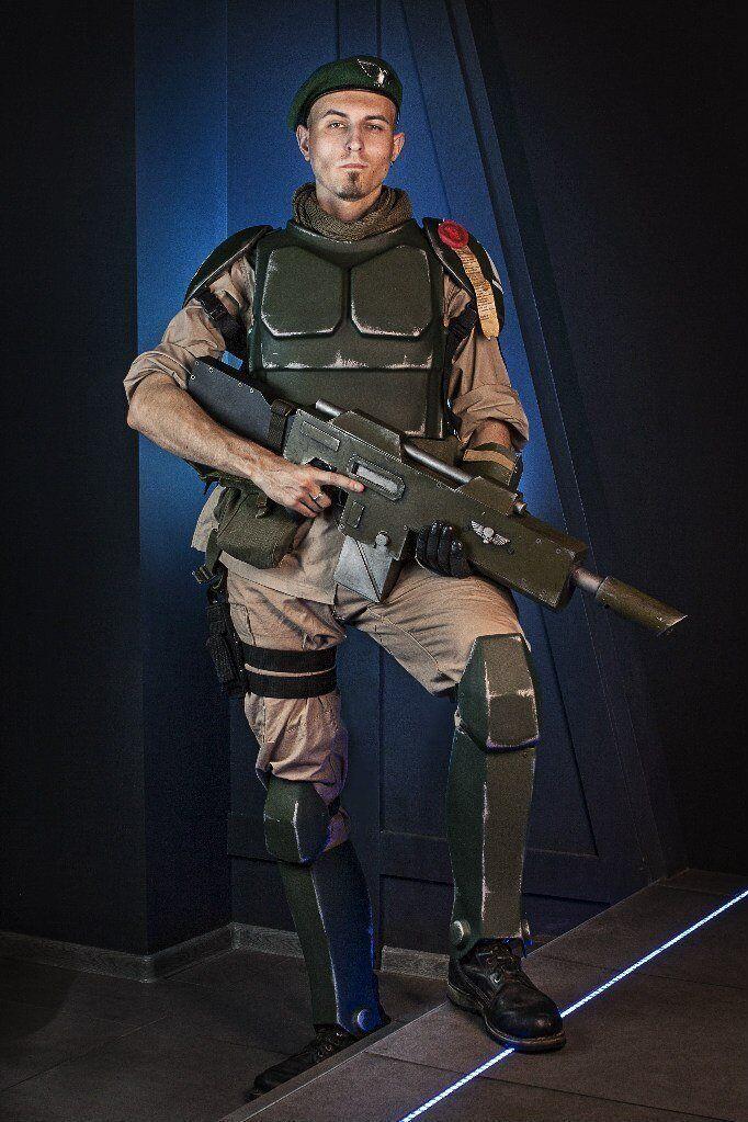 Cadian Imperial Guard armadura, Warhammer 40000