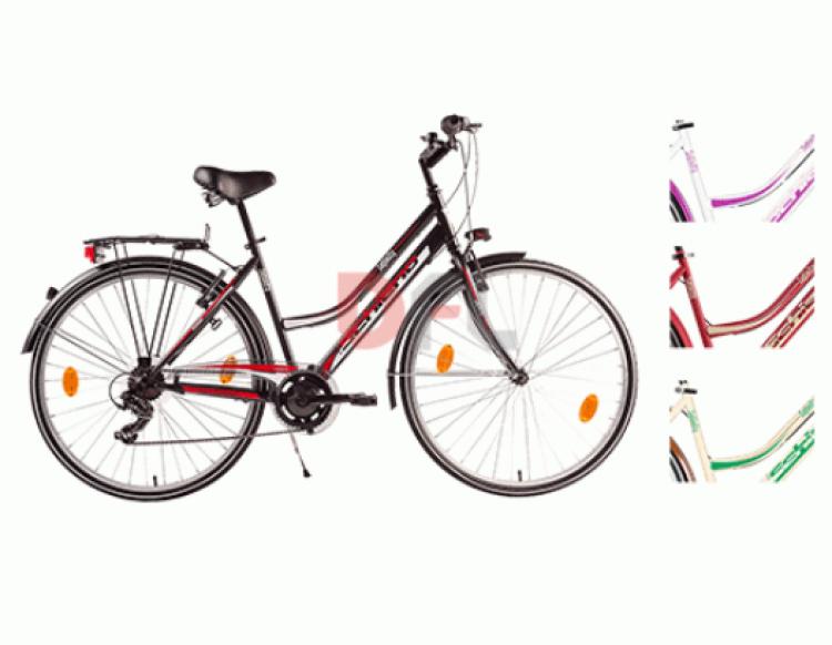 Fahrrad Trekking 'Infinity' Frau-Steel Frame - 6 Speed reports