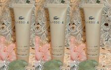 LOT~ Lacoste Pour Femme ~ 1.6 oz / 50ml EACH ~ Perfume d Body Cream s