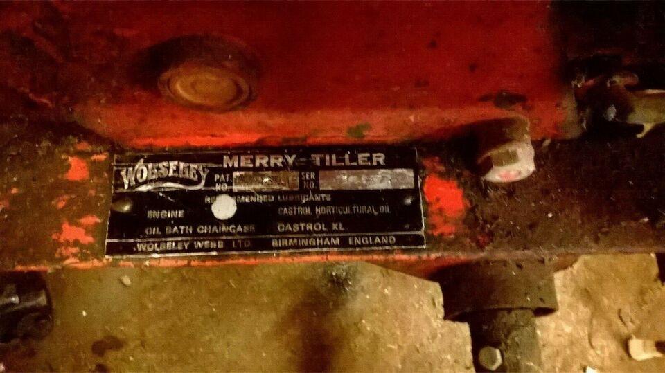 Havefræser , Wolseley Titan , 3 hk