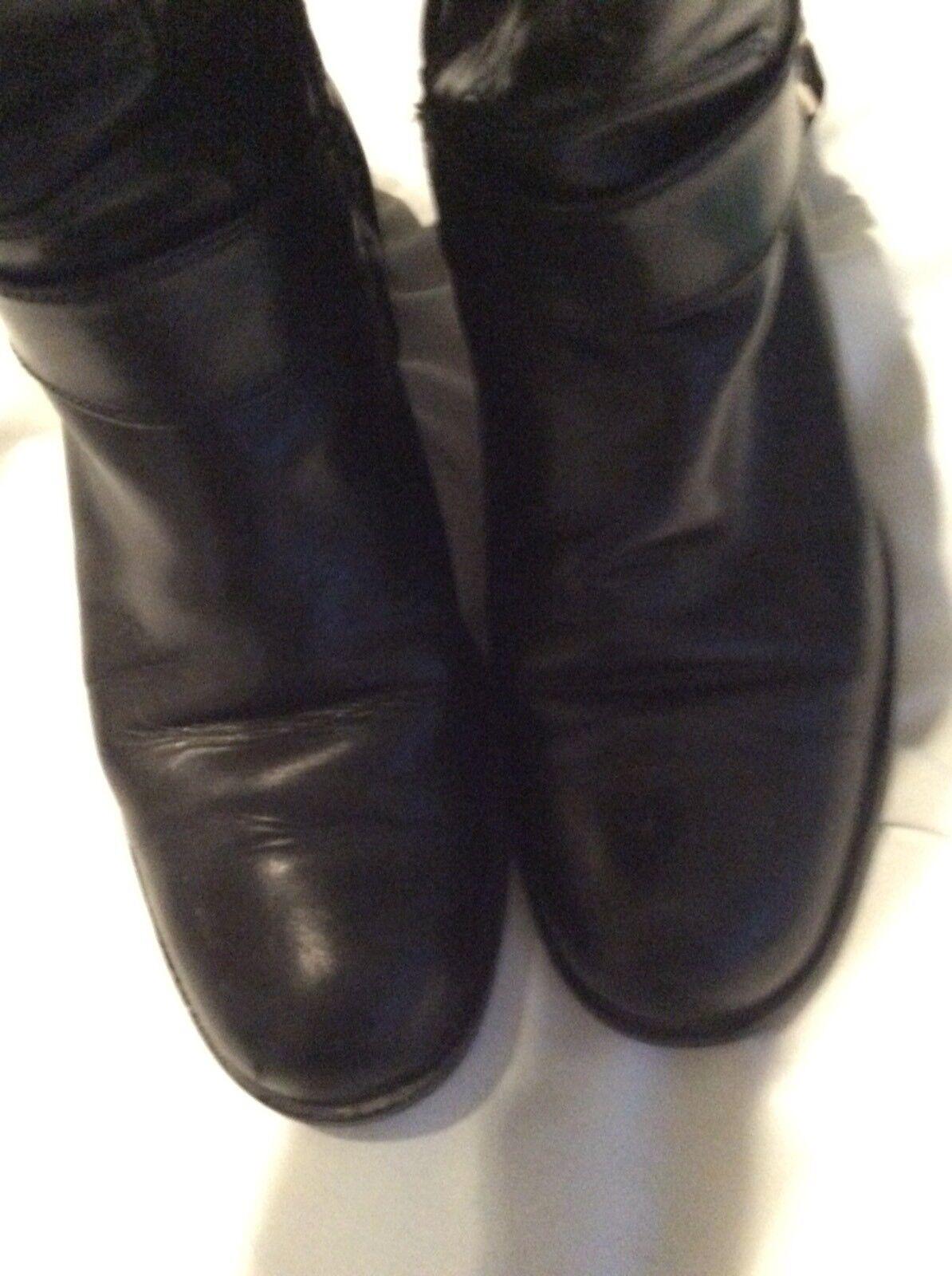 Stivali Bromley-Taglia neri *** Russell & Bromley-Taglia Stivali 37/Regno Unito misura 4-Wide vitello-RRP a9ce9b
