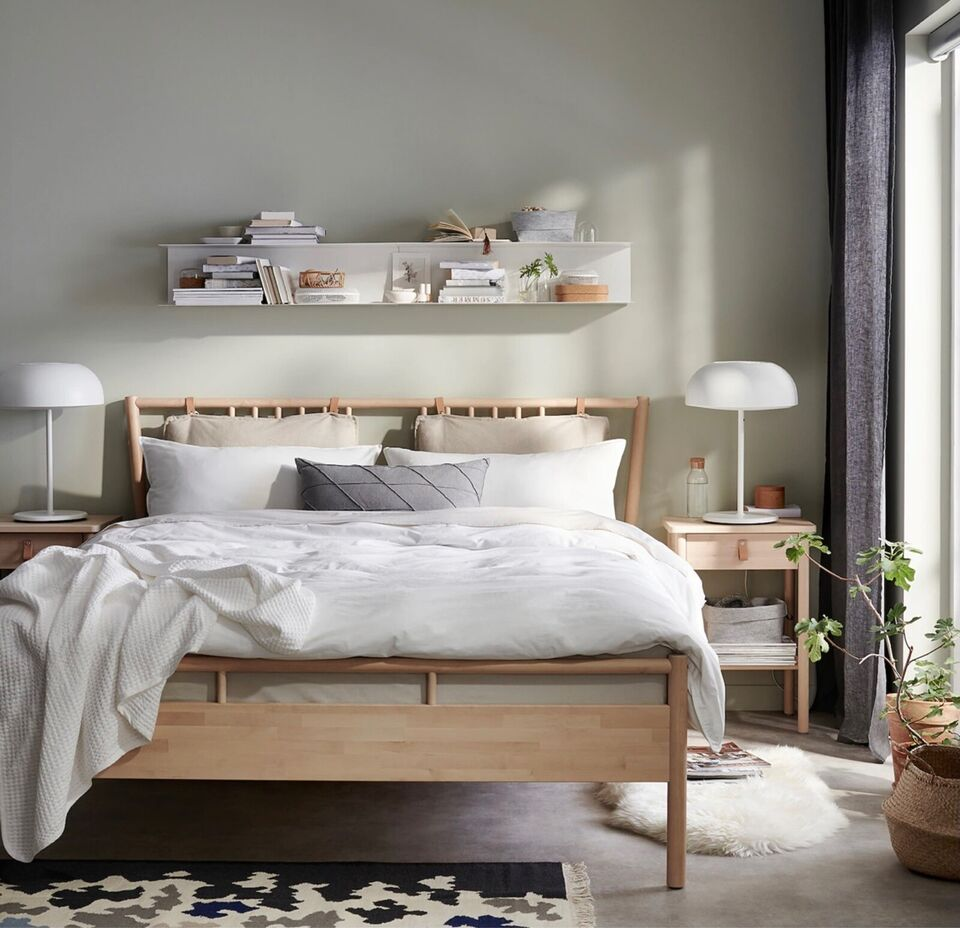 Dobbeltseng, IKEA , b: 160 l: 200