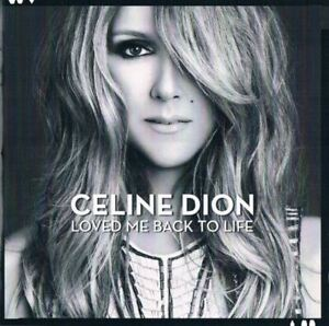CELINE-DION-loved-me-back-to-life-CD-album-2013-ballad-chanson-very-good