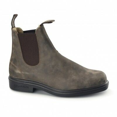 Gutherzig Blundstone 1306 Nubuck Chelsea Boots Rustic Brown