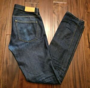 Acne-Max-New-Raw-Jeans-Men-039-s-32-Waist-35-Inseam