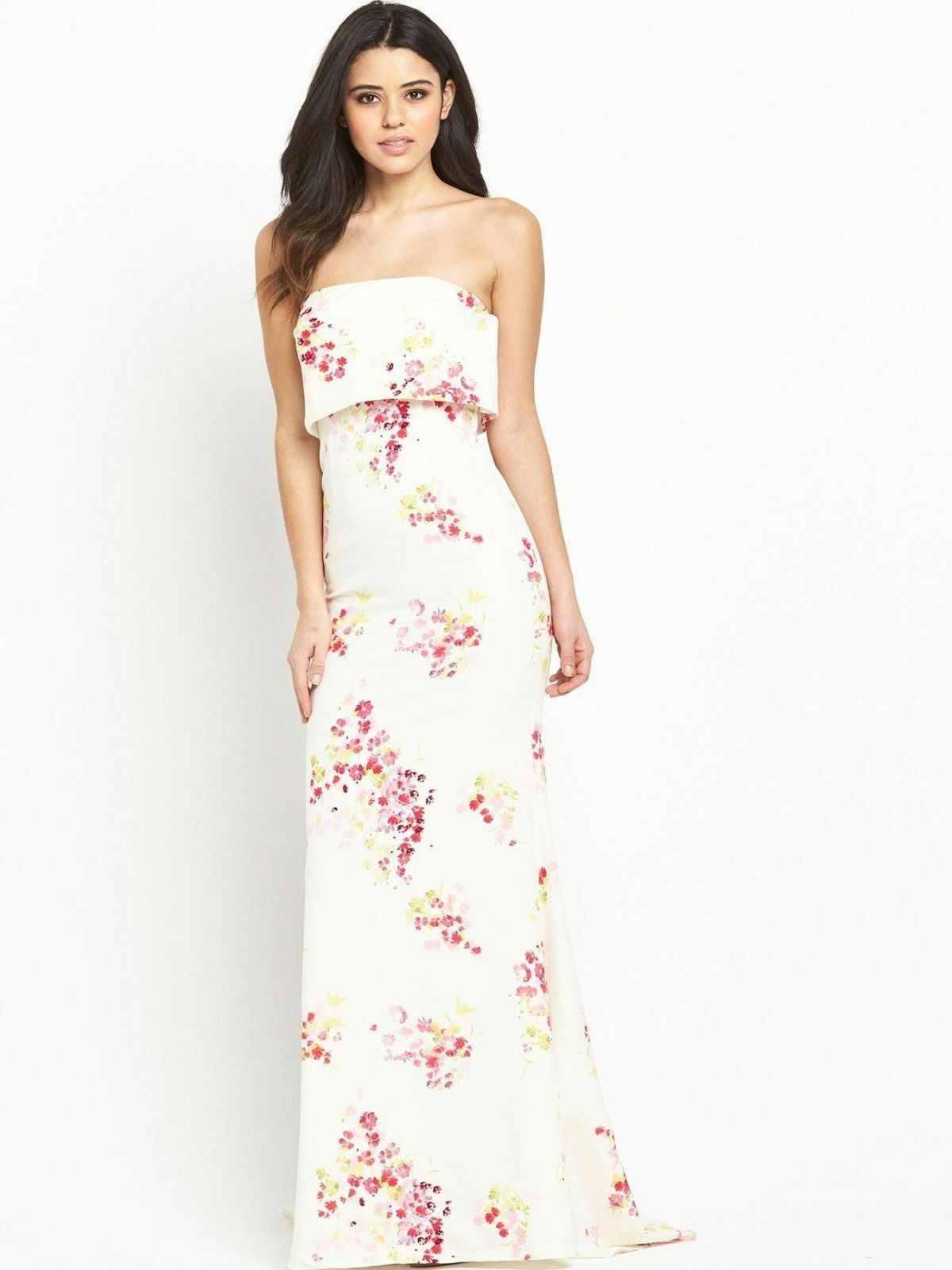 Jarlo Floral Party Wedding Maxi Dress Dress Dress UK10 EUR38 US6 | Ausgezeichneter Wert  6c5b15