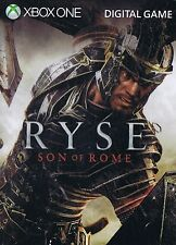 New Ryse Son of Rome Xbox One Digital Download Card