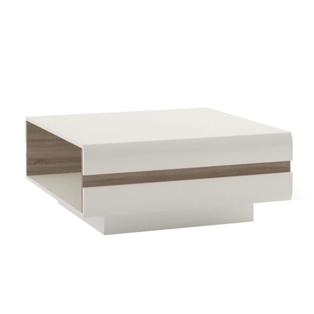 large image. Avieka White Gloss Large Coffee Table