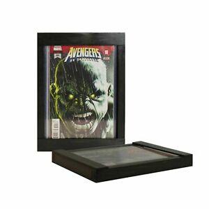 Comic Book Frame Display, Black Top Loader, Raw comic display, Store and Display