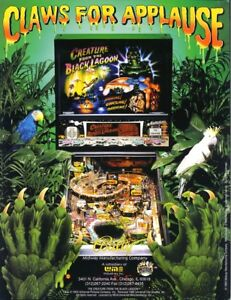 Creature-From-The-Black-Lagoon-1992-NOS-Pinball-Machine-Flyer-Monsters-Bally