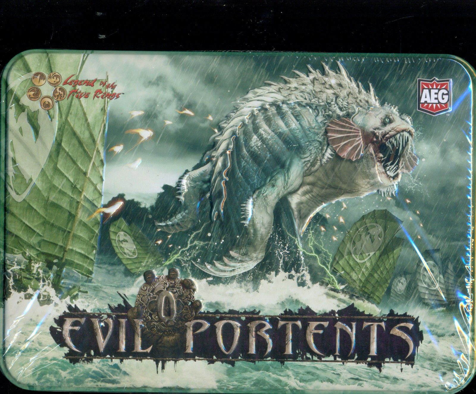 Aeg l5r 1 metal box of 36 boosters evil portents vo