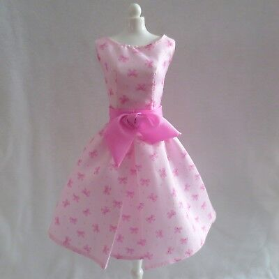 NEW Barbie The Look City Shine Doll Pink Bow Back Shoes ~ Model Muse Clothing