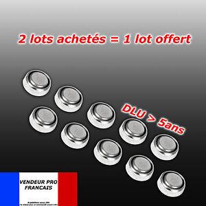 Lot-x-10-pile-bouton-AG4-LR66-SR66-LR626-SR626-626A