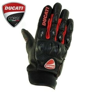 Ducati-Gloves-Motorcycle-Leather-Racing-Protective-Glove-Panigale-Monster-V4-V2