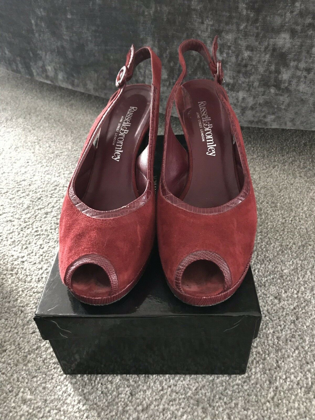 Russell And bromley size 7 Sling Back