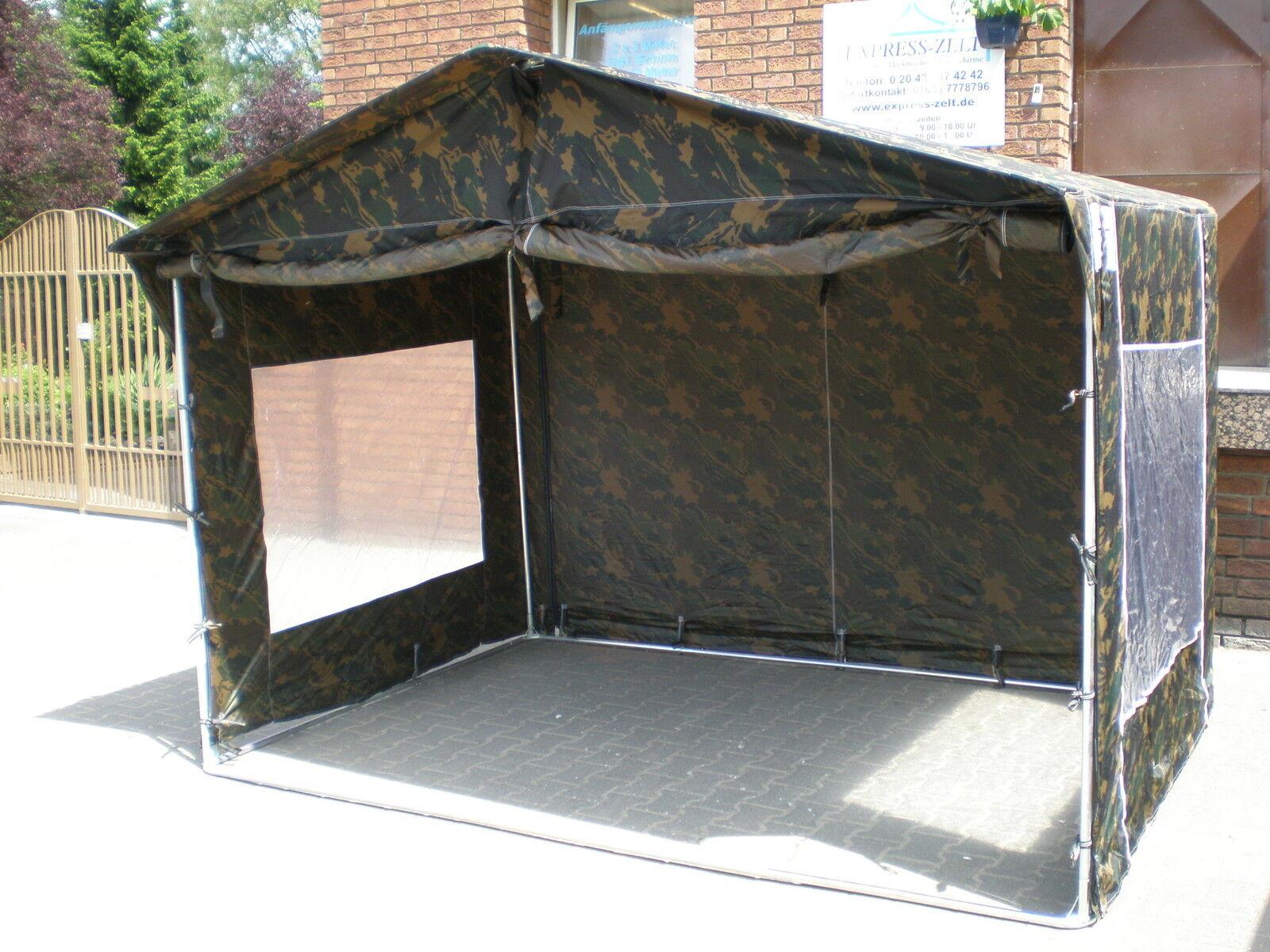 Neu  2 x 2 m Anglerzelt Steckzelt Marktzelt Zelt