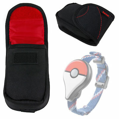 Protective Lightweight Black / Red device Case for Nintendo Pokemon Go Plus
