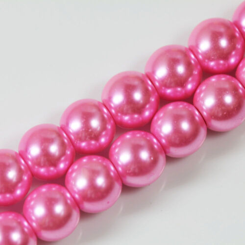 Wholesale Czech Glass Pearl Round Spacer Loose Beads DIY 4mm//6mm//8mm//10mm//12mm