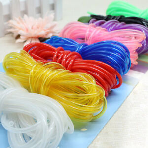 Image is loading 5m-Clear-PVC-Tube-Flexible-Plastic-Hose-Pipe- & 5m Clear PVC Tube Flexible Plastic Hose Pipe sleeving Fish Tank ...