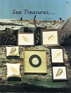 Seadream-Needleworks-SEA-TREASURES-Book-2-for-Needlepoint-1980-Vintage