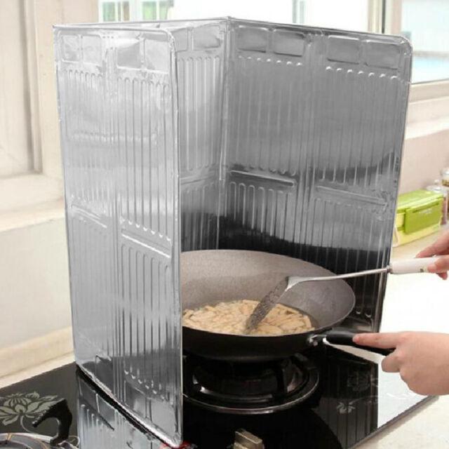 Kitchen Cooking Frying Pan Oil Splash Screen Cover Anti Splatter Shield Guard P@