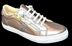TS shoes TAKING SHAPE sz 7 38 Harper Side Zip Bronze Brogue wide fit comfy NIB