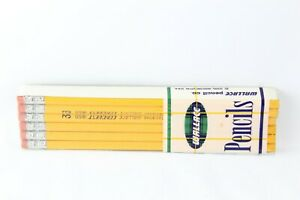 Vintage-Pencils-Wallace-Conquest-1850-No-4-USA-Readibond-Unsharpened-NEW-SEALED