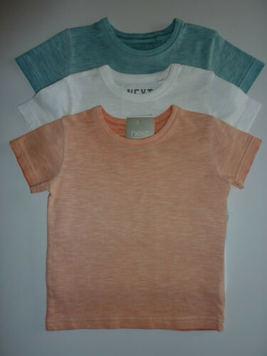 NEXT 3 Little Boys Wave Dyed T-Shirts NWT