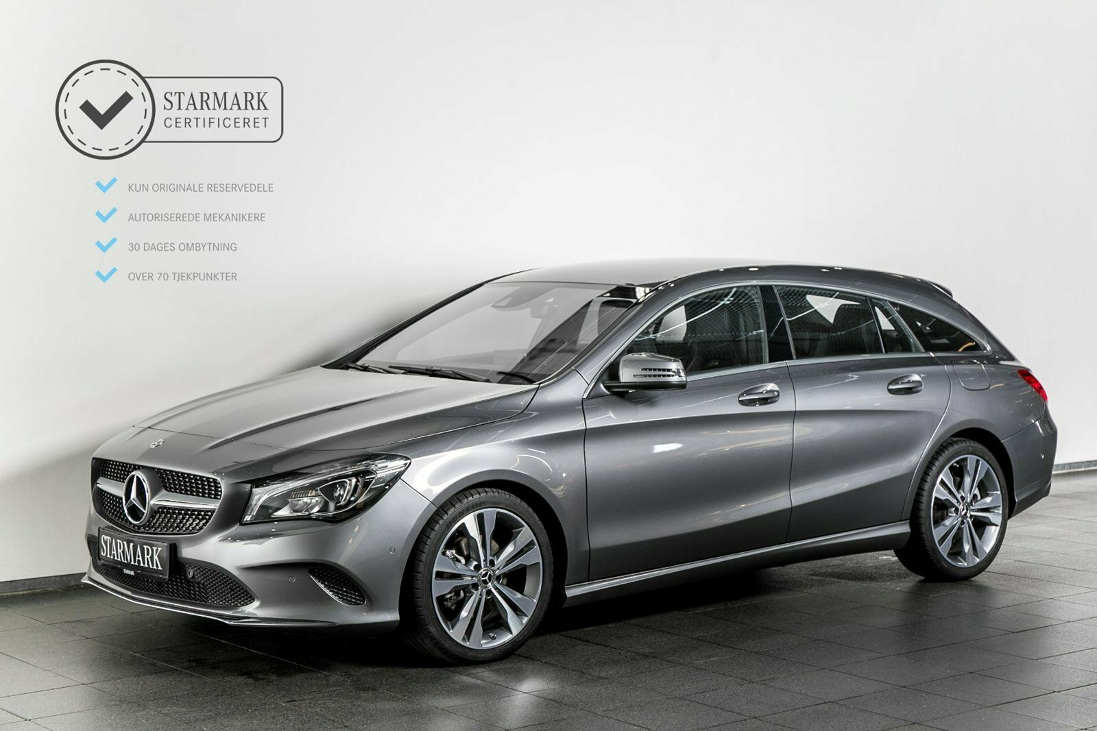 Mercedes CLA200 d 2,2 Urban SB aut. 5d - 374.900 kr.