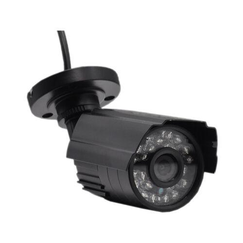 1MP Outdoor IP66 Camera Bullet CCTV Security Night Vision Analog BNC Black