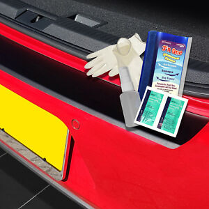 carmats4u White Carbon Vinyl Bumper Lip Protector//Self Adhesive
