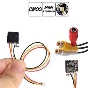 DIY Mini 3.7mm Lens SPY 700TVL CCTV Security surveilance Video Mic Camera FPV