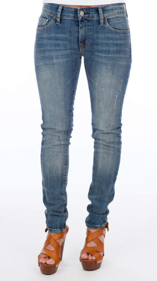 Denim & Supply Ralph Lauren Distressed Skinny Jeans Size 26 Holiday 2 NEW