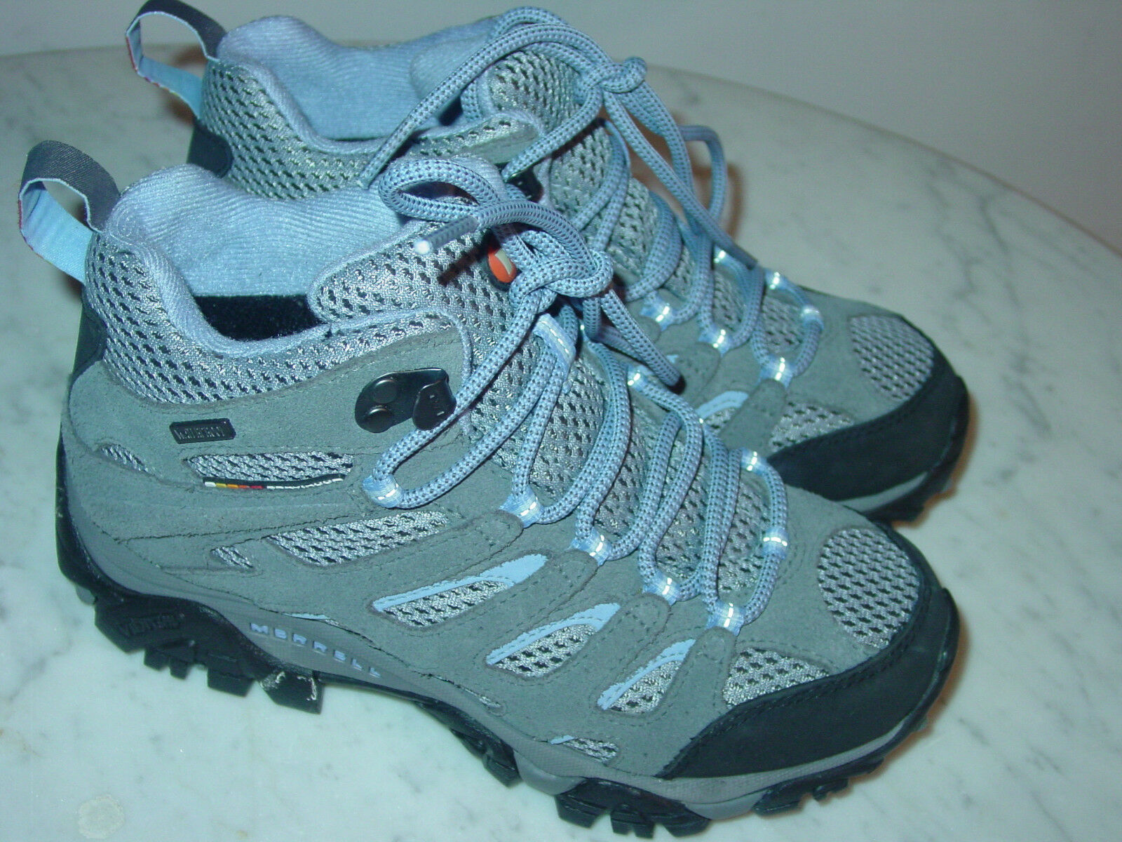 damen Merrell Moab Moab 2 J88792 J88792 J88792 Periwinkle Mid Trail Hiking schuhe Größe 5.5Y 9024b2