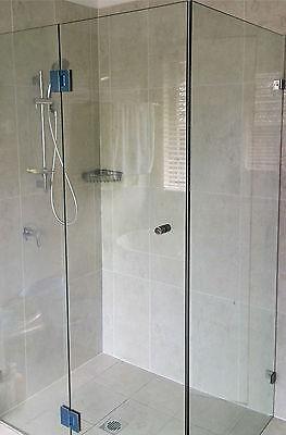 1000mm*2000mm Shower Screen single panel 10mm Heat Soaked Toughened Glass