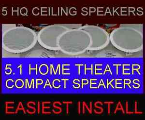 5-PACK-HOME-THEATER-CEILING-WALL-COMPACT-SMALL-6-5-034-HQ-5-1-SPEAKERS-5X