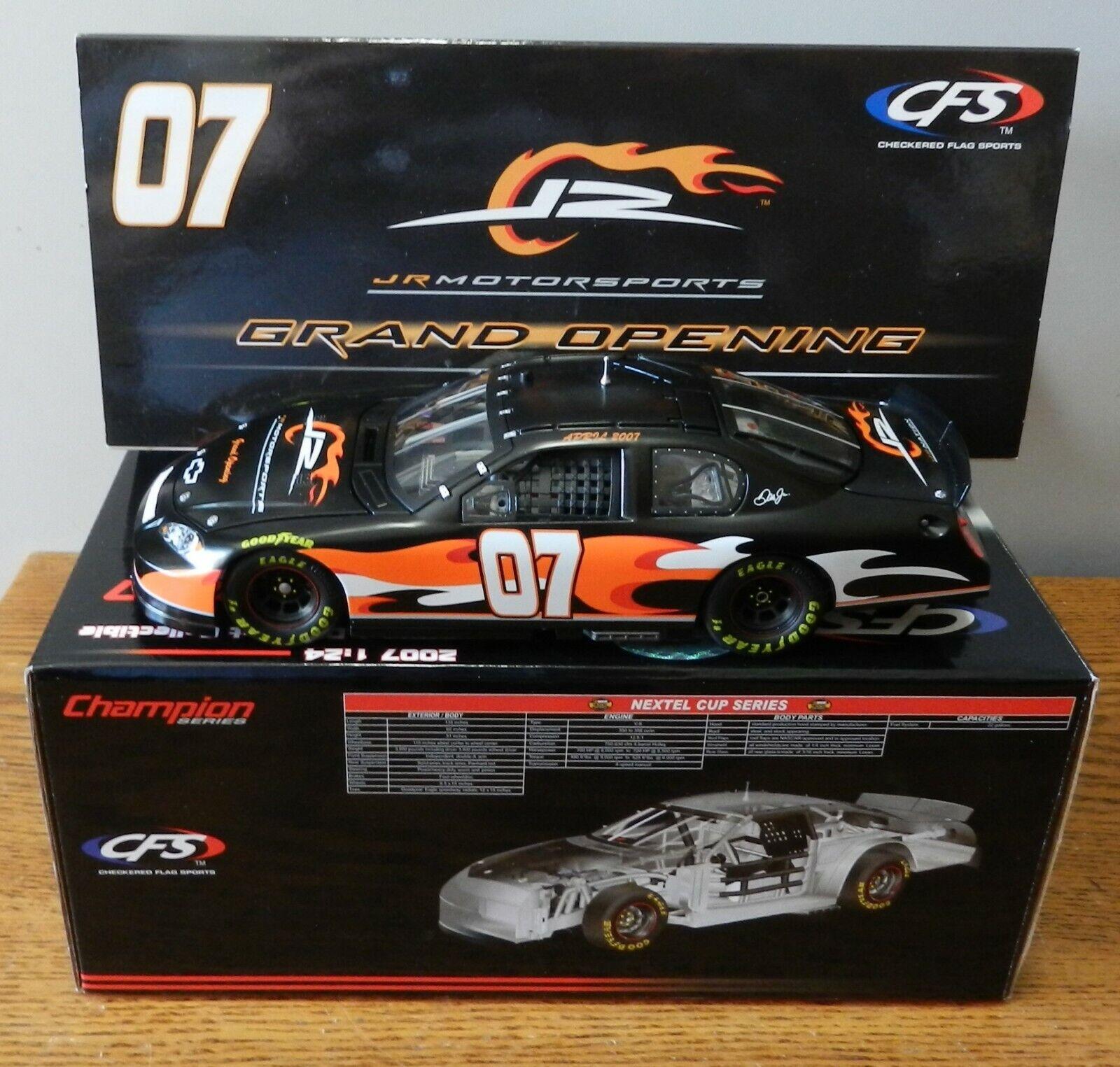 2007 Dale Earnhardt Jr  7  inauguración  CFS coche edición limitada 1 de 3883